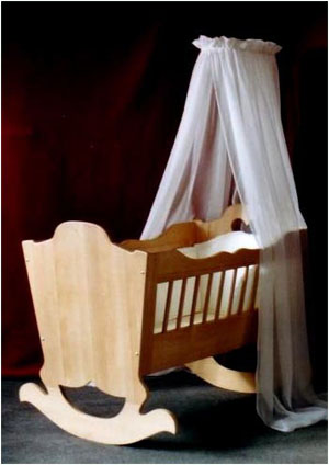 Gut bekannt Babywiege Bauanleitung, Bauplan ZQ09
