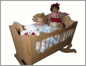 Extrem Babywiege Bauanleitung, Bauplan QA75